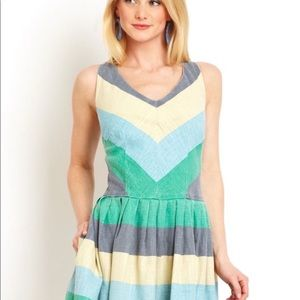 Modcloth striped summer dress